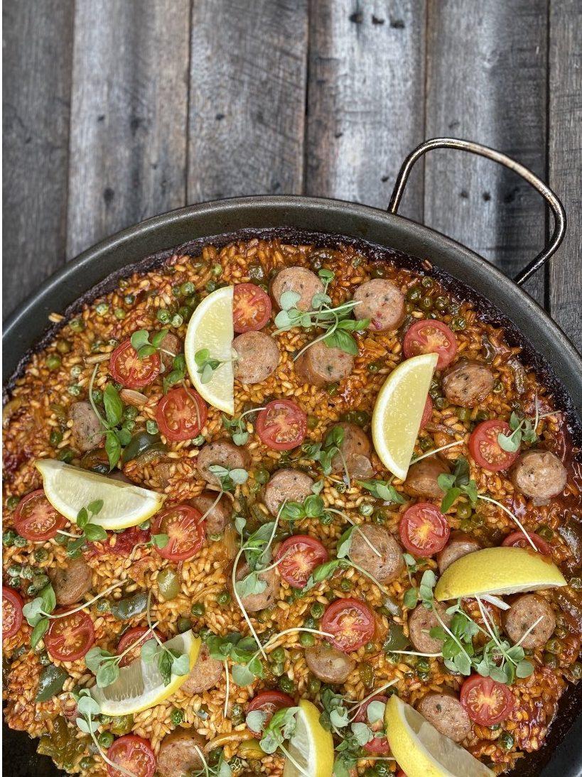 spicy scillian paella